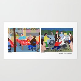 Bad Painting collection 94 & 95 Art Print