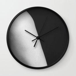 Naked Yoga Wall Clock