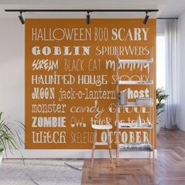 Halloween Celebration Wall Mural