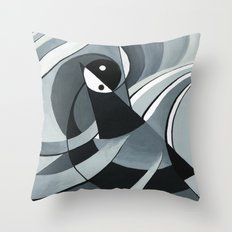 Yin and yang Throw Pillow