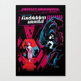 The Forbidden World Canvas Print