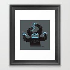 Monster In My Pants Framed Art Print