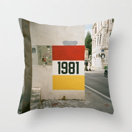 Mostar 1981 Throw Pillow