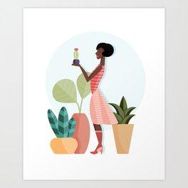 Florist Art Print