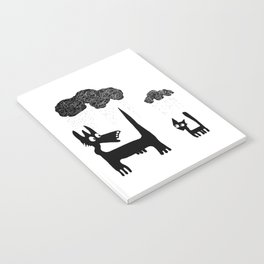 It's Raining Cats and Dogs Notebook