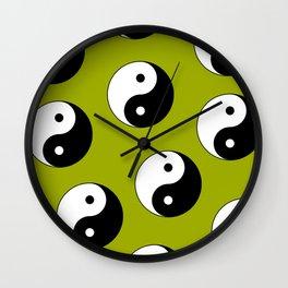 Yin & Yang Wall Clock