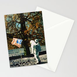 the first man under a tree Stationery Cards