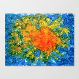 Sun Above Water Canvas Print