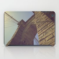 brooklyn bridge iPad Cases featuring Brooklyn Bridge by Nick Torres