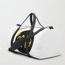 Cartoon 2019 New Year Bomb Duffle Bag