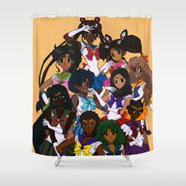 POC Sailor Senshi Shower Curtain