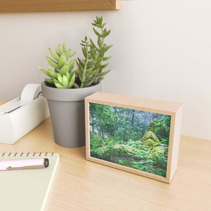 The Nature's green Framed Mini Art Print