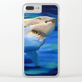 Shark Week Clear iPhone Case