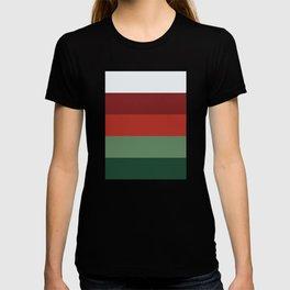 Christmas stripes #eclecticart T-shirt
