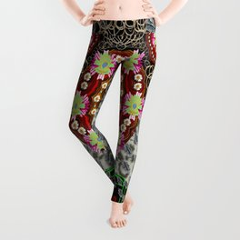 Blessed be and merry Leggings