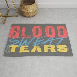 Blood, Sweat, & Tears Rug