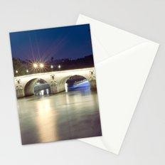 Bridges of Paris by Night Stationery Cards