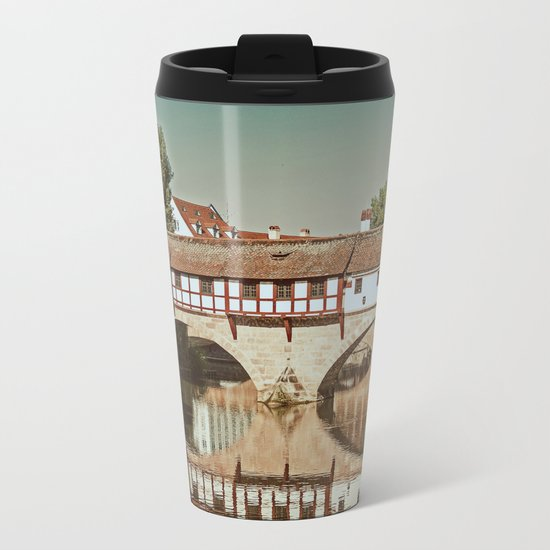 Romantic Nuremberg Metal Travel Mug