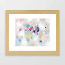 Dreamy Abstract Framed Art Print