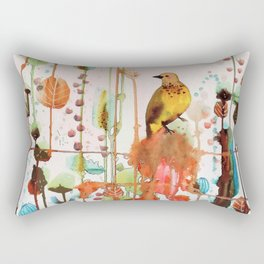 demander la joie Rectangular Pillow