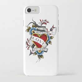 All You Need is Love - White iPhone Case