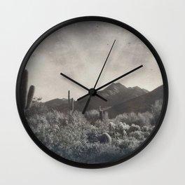 McDowell Mountains, Arizona Wall Clock