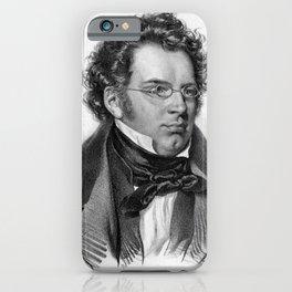 Kriehuber- Portrait of Schubert iPhone Case