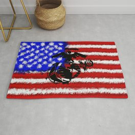 This We'll Defend - USMC Rug