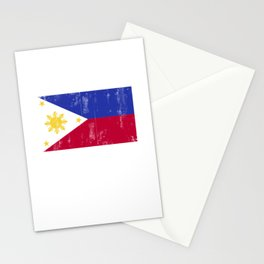 Philippines flag Filipino Pinoy DNA Stationery Cards
