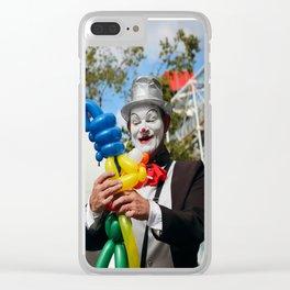 Paris Mime Clear iPhone Case