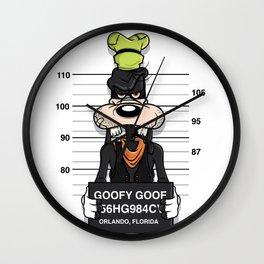 Bad Guys / Goofy Goof Wall Clock