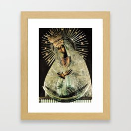 Our Lady Gate of Dawn Virgin Mary of Sharp Gate Madonna without Child Christmas Gift Religion Art Framed Art Print