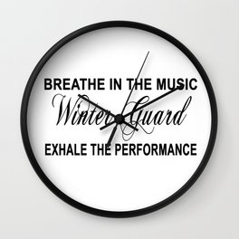 Exhale the Performance Wall Clock