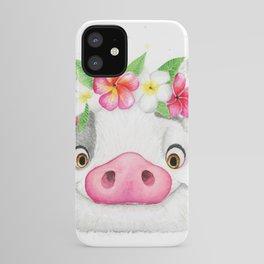 Exotic Pig iPhone Case