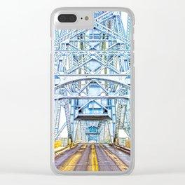 Lift Bridge Clear iPhone Case