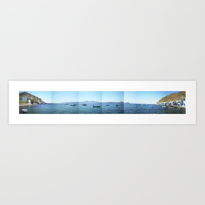 Milos island, Greece Art Print