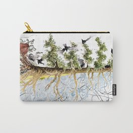 The Woods and The Water Carry-All Pouch