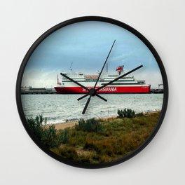 Spirit of Tasmania Wall Clock