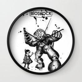 Bioshock Drawing Wall Clock