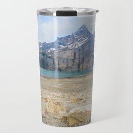 Oeschinen Lake Bernese Oberland Switzerland Travel Mug