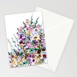 Scarlett Floral Pastel Stationery Cards