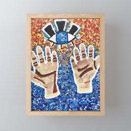 Awake or Woke Framed Mini Art Print