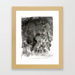 Speckled Framed Art Print