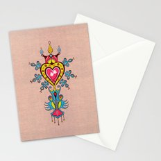The Heart Rules Stationery Cards