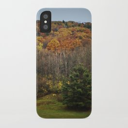 October Mountain Forest iPhone Case