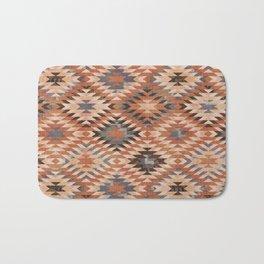 Arizona Southwestern Tribal Print Bath Mat