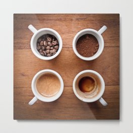 coffee VI. Metal Print