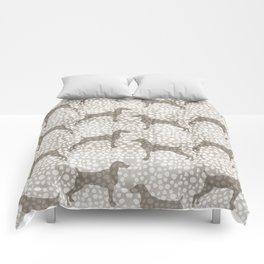 WEIMARANER SPOTS Comforters