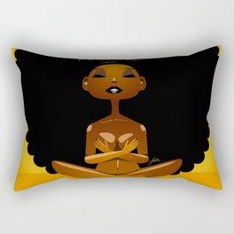 Spiritual AfroGirl Rectangular Pillow