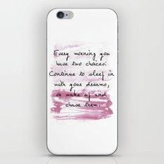 everymorning watercolor iPhone & iPod Skin